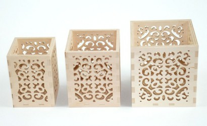 Candle boxes (3 pcs)