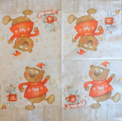Napkin Teddy bear