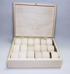 Žiedų servetėlėms rinkinys (18 vnt)