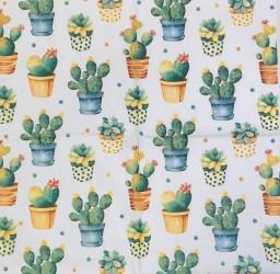 Servetėlė Kaktusai