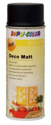 Deco matt Spray paint 400 ml Black