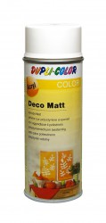 Deco matt spray paint 400 ml White