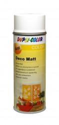 Purškiami dažai Deco matt 400 ml Balti