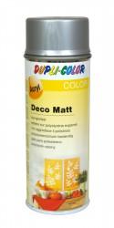 Purškiami dažai Deco matt 400 ml Silver