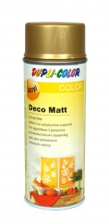 Purškiami dažai Deco matt 400 ml Auksiniai