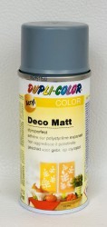 Deco matt Spray paint 150ml Silver grey