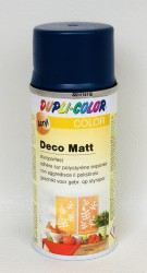 Deco matt Spray paint 150ml Sapphire blue