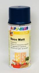 Deco matt Spray paint 150ml Sapphire blue