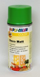 Deco matt Spray paint 150ml Green yellow