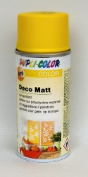 Deco matt Spray paint 150ml Rape yellow