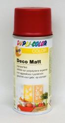 Deco matt Spray paint 150ml Flame red