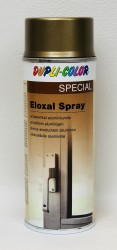Bronzos efekto purškiami dažai Eloxal 400 ml (Dark gold)