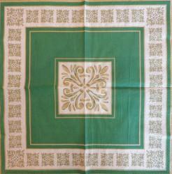 Servetėlė Ornamentai (žali)