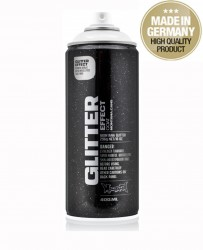 Montana Glitter Effect Spray paint Silver 400ml