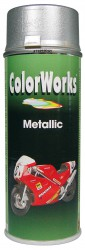 Color Works Spray paint Metallic silver 400ml