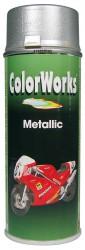 Purškiami dažai Color works 400ml (Metallic Silver)