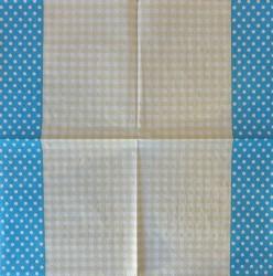 Servetėlė Taškiukai (mėlyni)