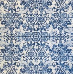 Servetėlė Ornamentai Mėlyni