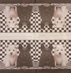 Servetėlė Šuniukai