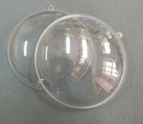 Medalionas skaidrus 9 cm (2 dalys)