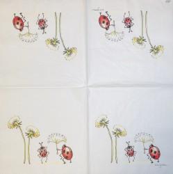 Napkin Ladybirds