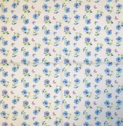 Servetėlė Mėlynos gėlytės
