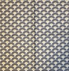 Servetėlė vėduoklės (juodos)