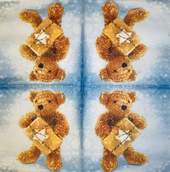 Napkin Teddy-bear