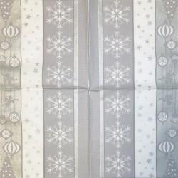 Napkin Snowflakes