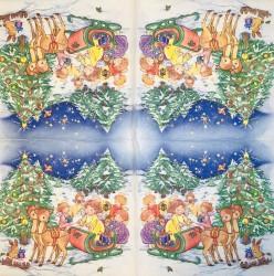 Napkin Christmas