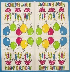 Napkin Birthday