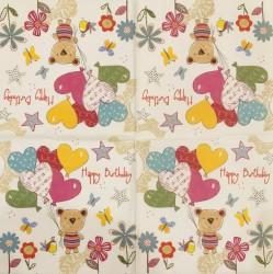 Napkin Birthday bear