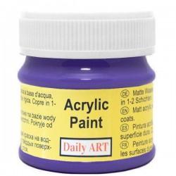 Matiniai akriliniai dažai Violetiniai (50 ml)