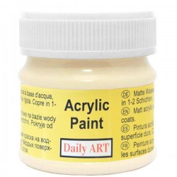 Acrylic paint Cream (50 ml)