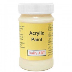 Acrylic paint Cream (100 ml)