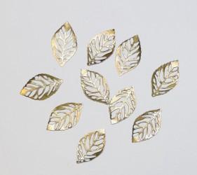 Leaves 10pcs Bronze