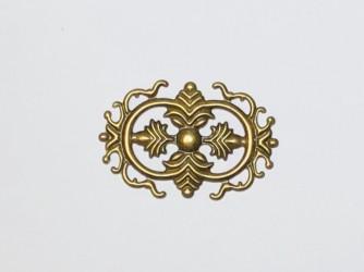 Ažūrinė plokštelė (žalvario spalva)