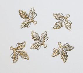 Leaves 5pcs Bronze