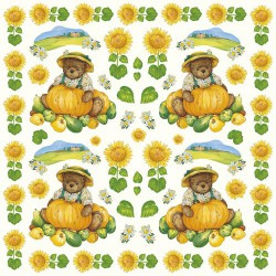 Rice napkin - Teddy bear