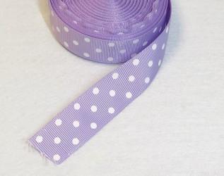 Juostelė taškuota Šviesiai violetinė (1 m)