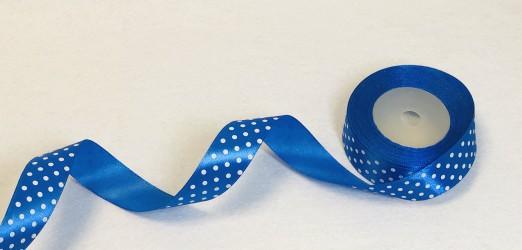Juostelė taškuota Mėlyna (1 m)