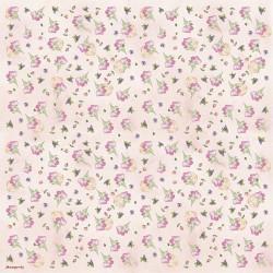 Ryžinė servetėlė - smulkios gėlės