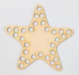 Nėrimo padukas Žvaigždė 15 cm