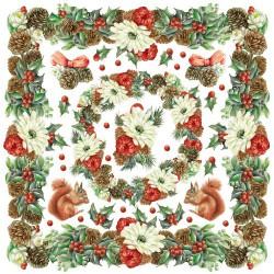 Ryžinė servetėlė - Vainikas