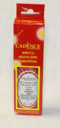 Iškilūs dažai (dimensional paint) blizgūs raudoni (50 ml)