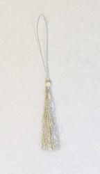 Tassel 7 cm Silver