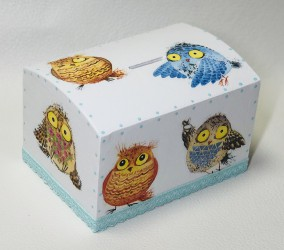 Money box Owls