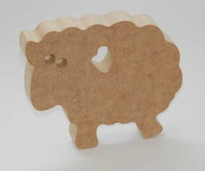 Sheep form MDF
