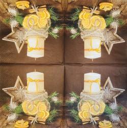 Napkin Candle