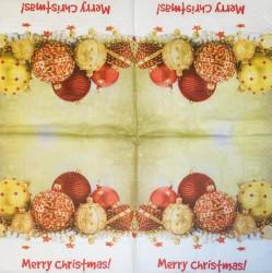 Servetėlė Kalėdiniai burbulai